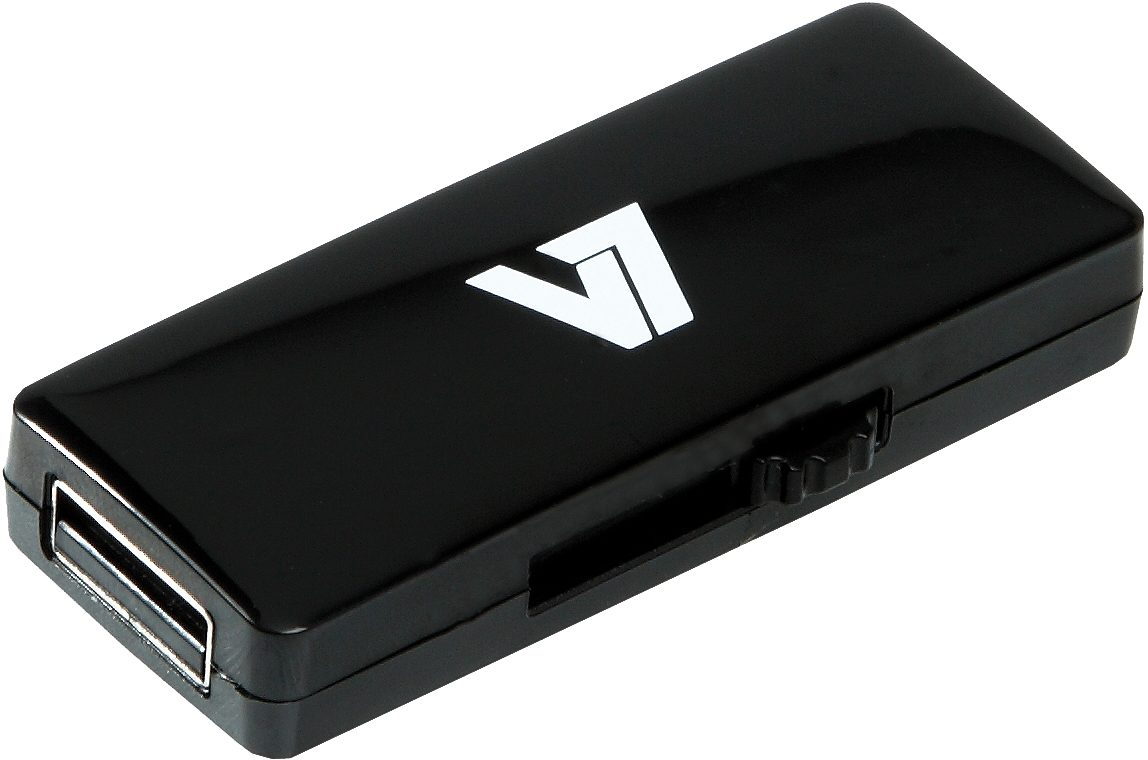 V7 USB-Stick »V7 USB STICK 16GB USB2.0 BLACK«