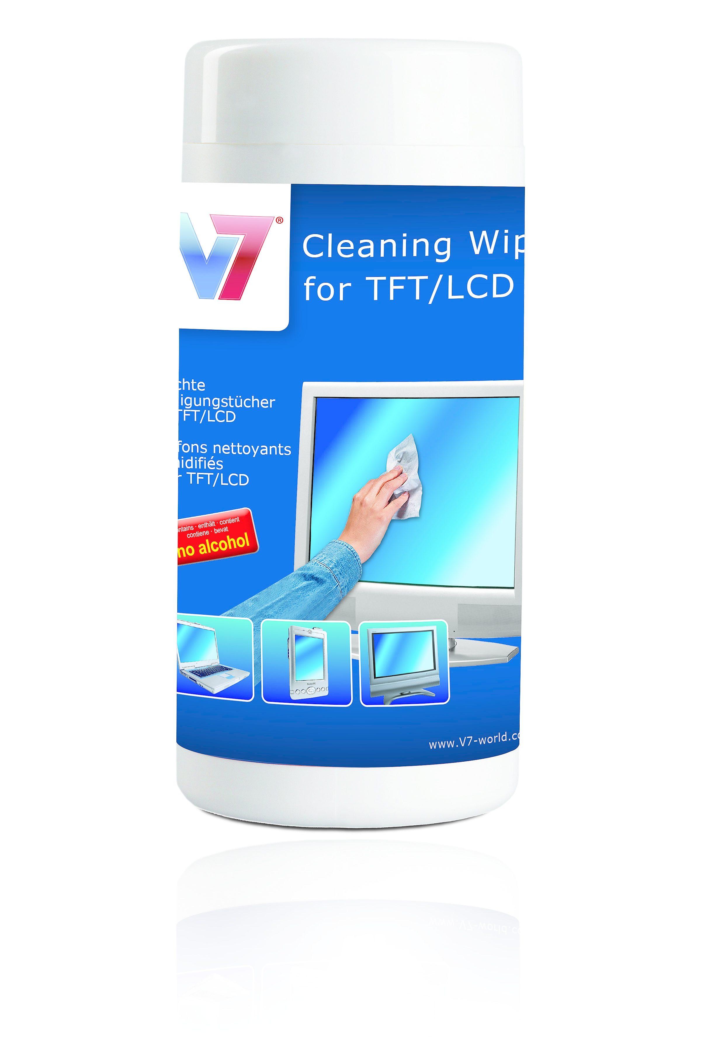 V7 Reinigungstücher »Reinigungstücher Große Dose«