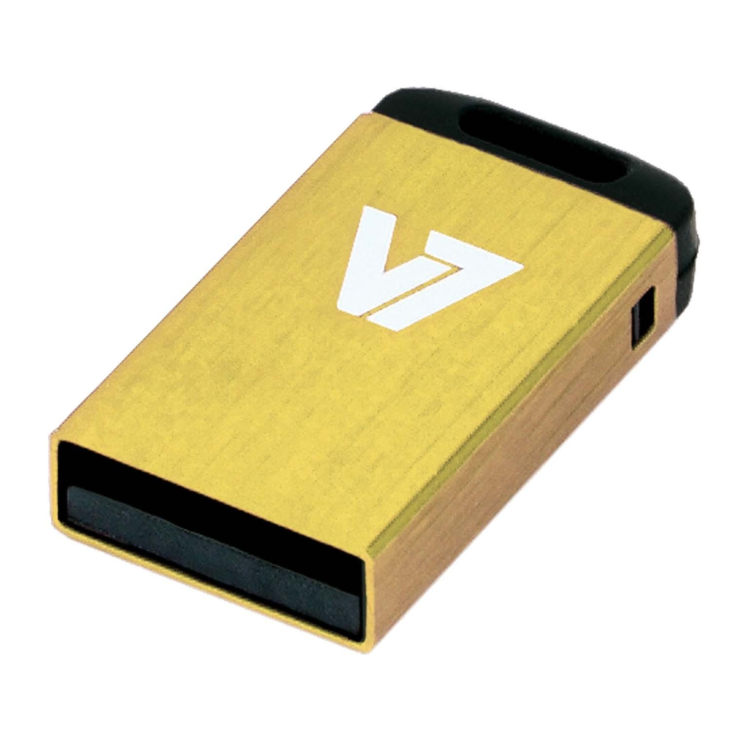 V7 USB-Stick »USB NANO STICK 8GB YELLOW«