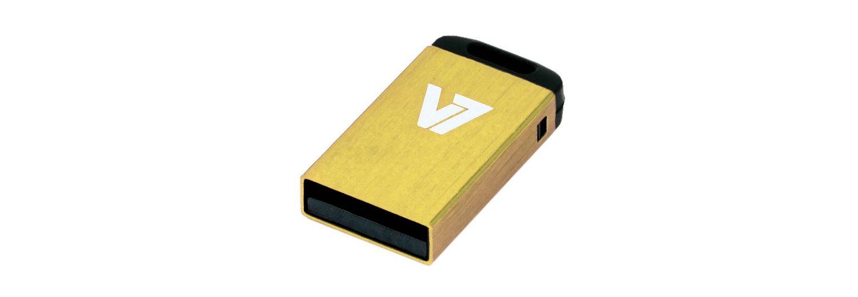 V7 USB-Stick »USB NANO STICK 8GB YELLOW«