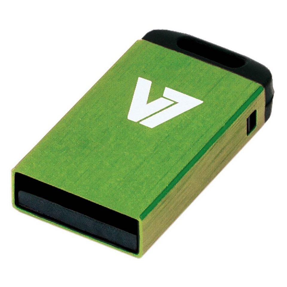 V7 USB-Stick »USB NANO STICK 4GB GREEN«