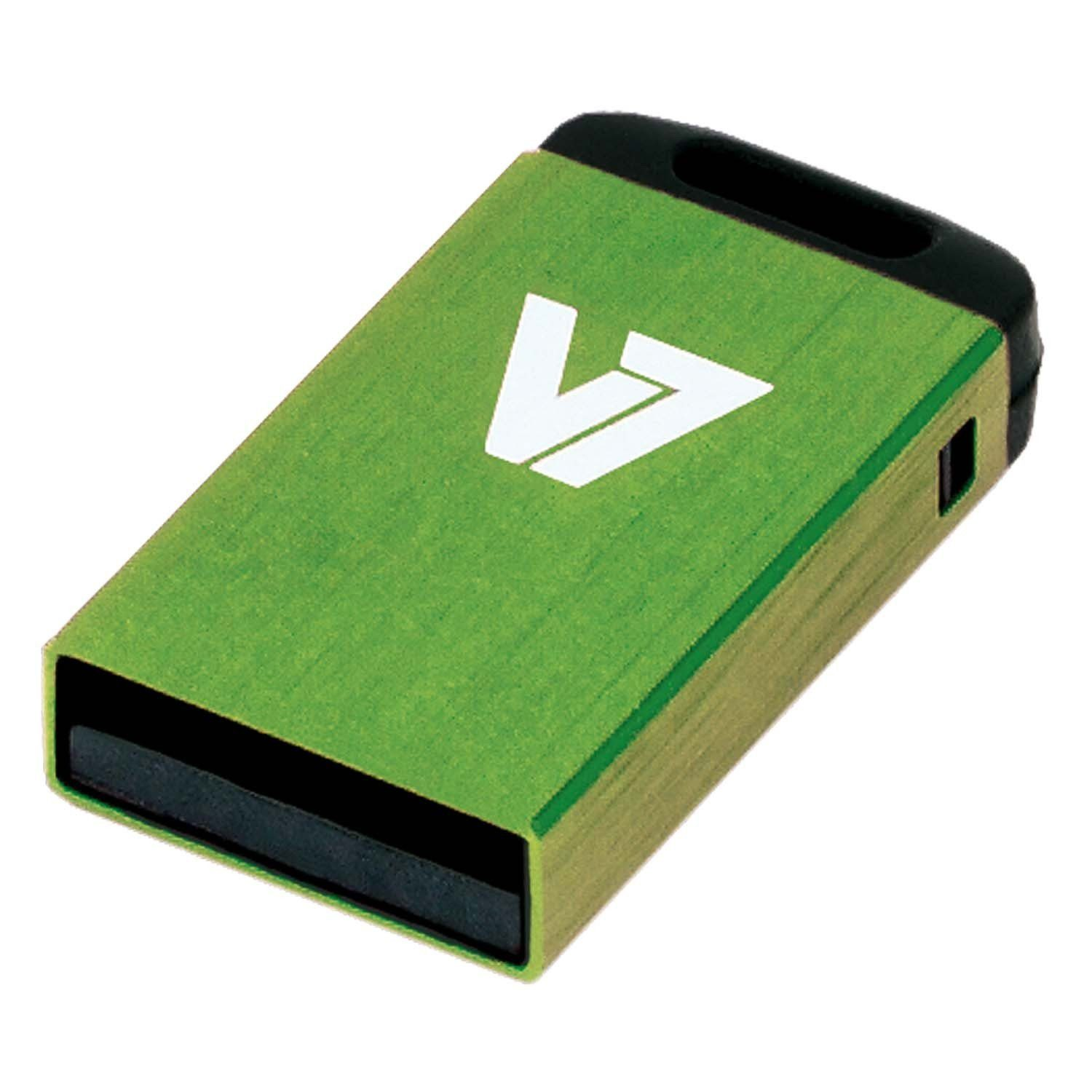 V7 USB-Stick »USB NANO STICK 4GB GREEN«