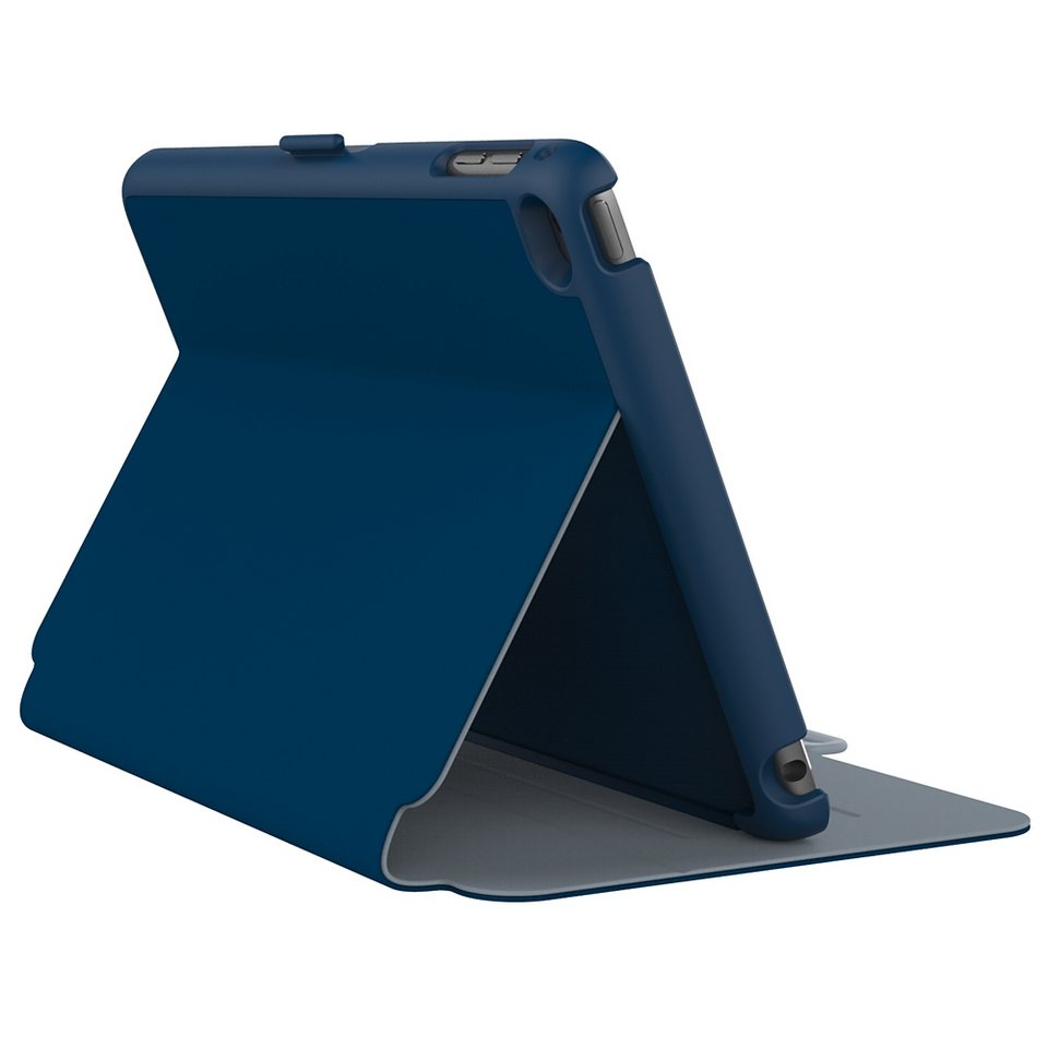 Speck HardCase »StyleFolio iPad mini (4) Deep Sea Blue/Nickel Grey« in blau
