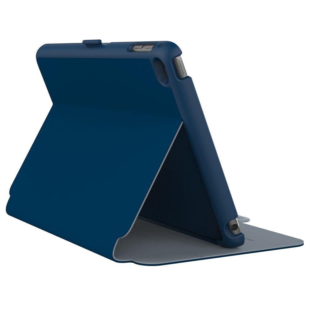 Speck HardCase »StyleFolio iPad mini (4) Deep Sea Blue/Nickel Grey«