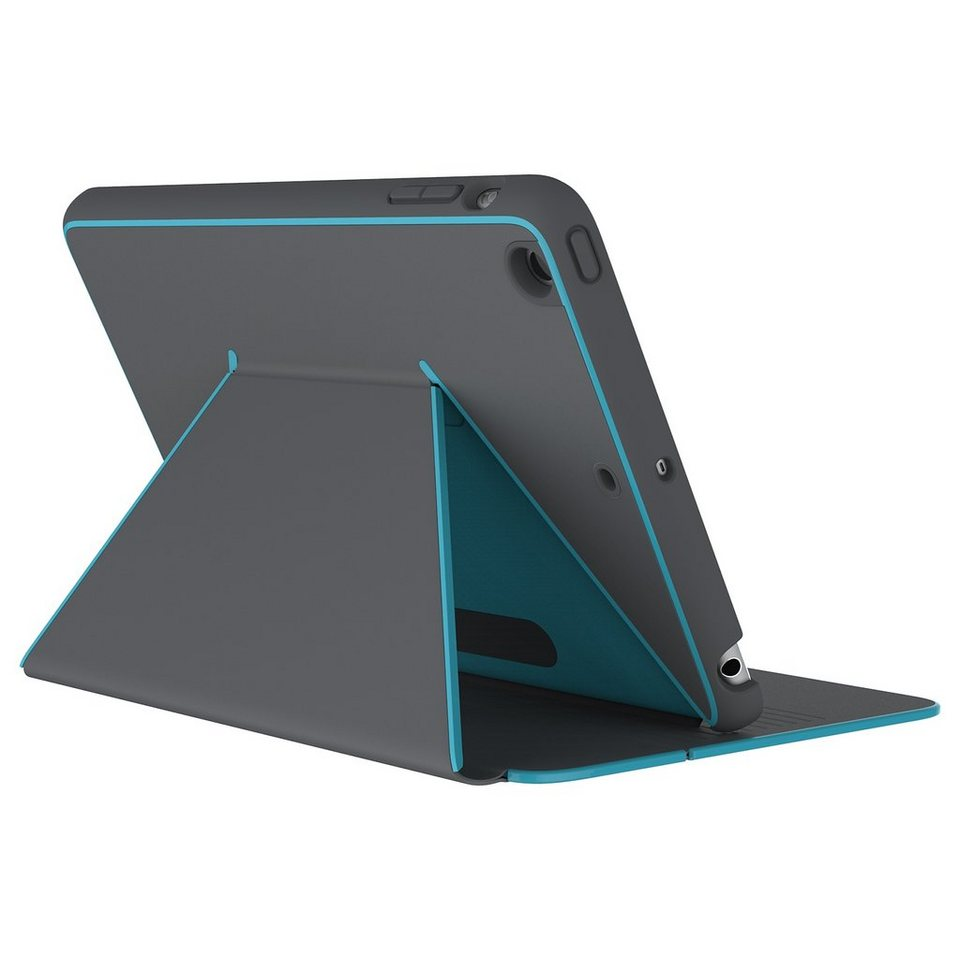 Speck HardCase »DuraFolio iPad mini (4) Slate Grey/Peacock Blue« in blau