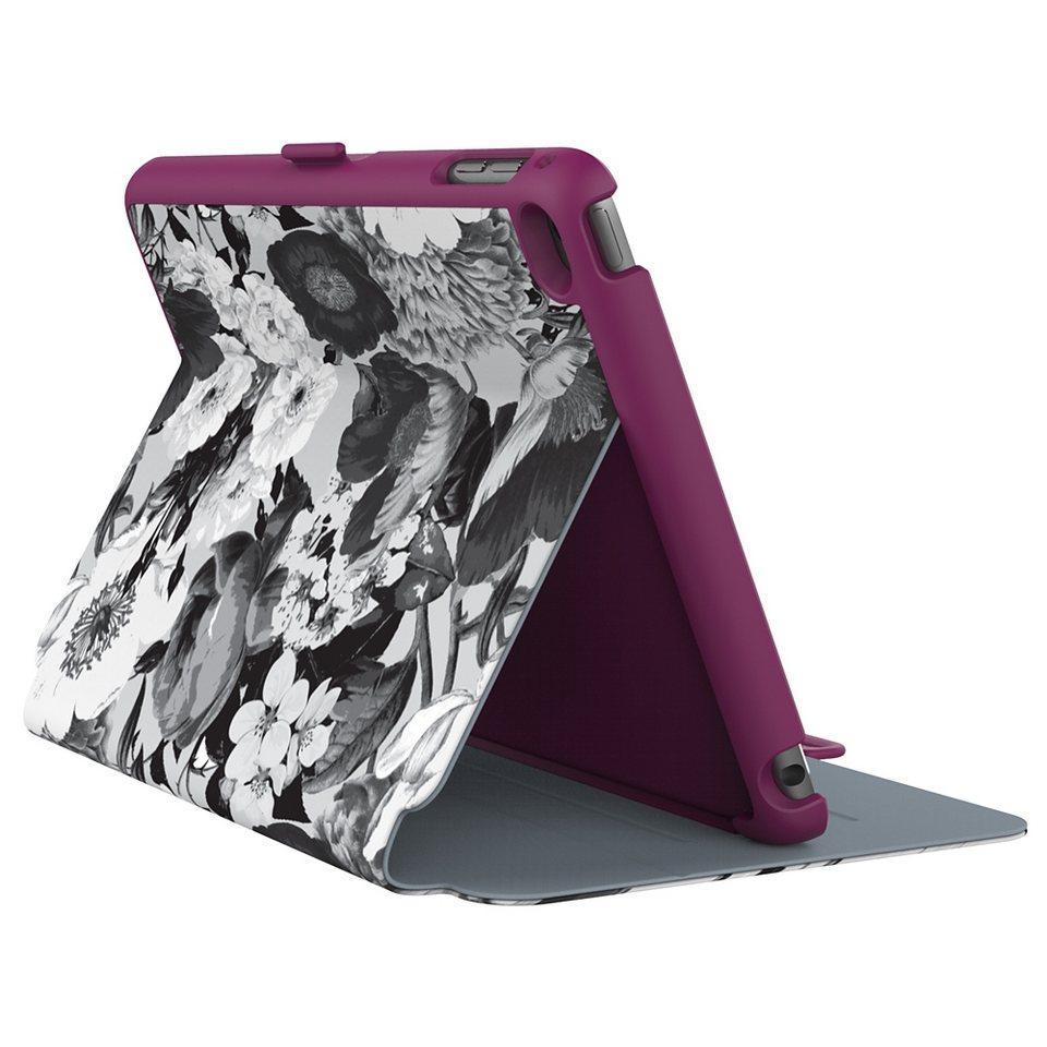 Speck HardCase »StyleFolio iPad mini (4) Vintage Bouquet Grey/Nick« in blau