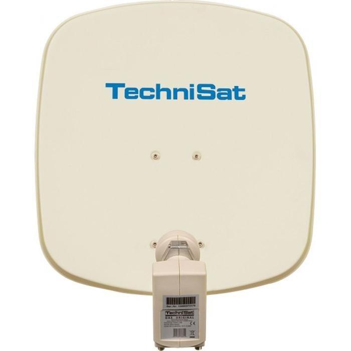 TechniSat Sat-Antenne 45 cm mit Twin-LNB »DigiDish 45, Universal-Twin-LNB«