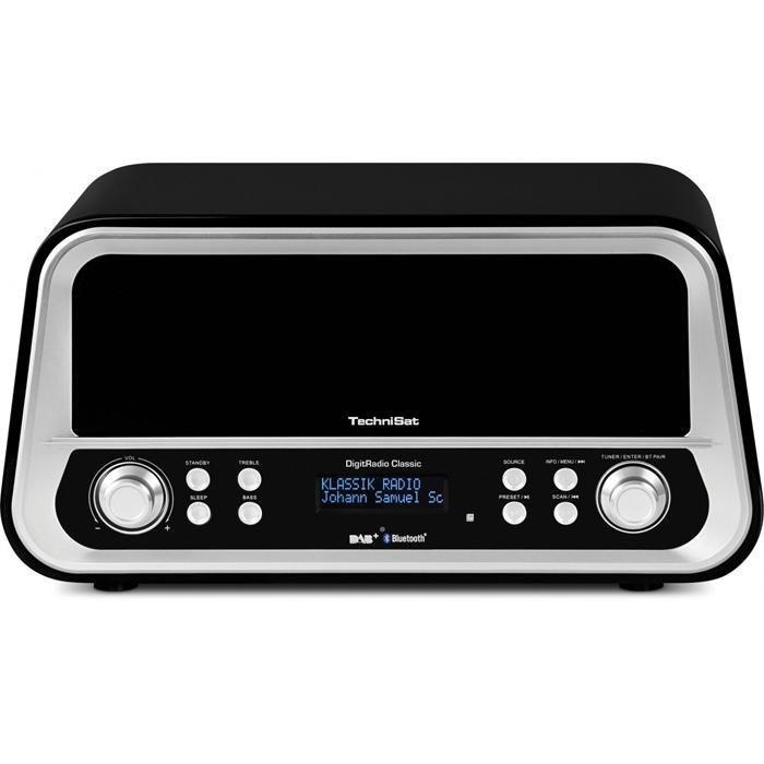 TechniSat DAB+ und UKW Stereo-Digitalradio »DigitRadio Classic« in schwarz