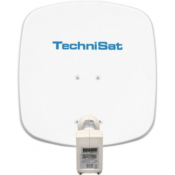 TechniSat Sat-Antenne 45 cm mit Twin-LNB »DigiDish 45, Universal-Twin-LNB« in polarweiß