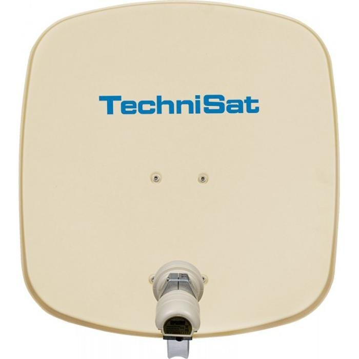 TechniSat Sat-Antenne 45 cm mit Single-LNB »DigiDish 45, Universal-V/H-LNB« in beige