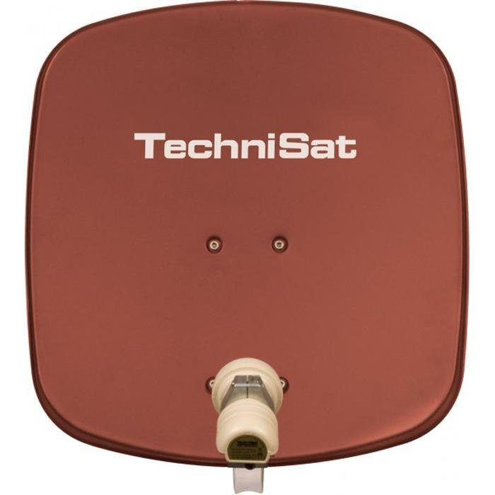 TechniSat Sat-Antenne 45 cm mit Single-LNB »DigiDish 45, Universal-V/H-LNB«