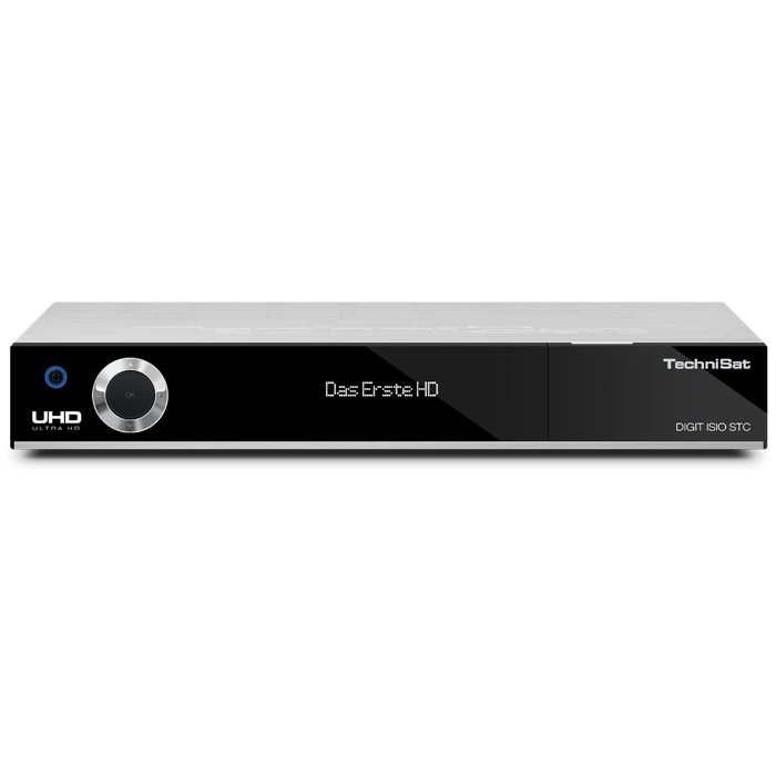 TechniSat UHD/4K Receiver »DIGIT ISIO STC« in silber