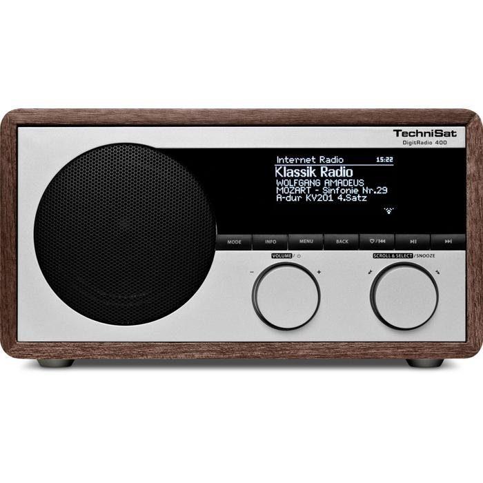TechniSat Netzwerkfähiges DAB+ Digitalradio »DigitRadio 400«