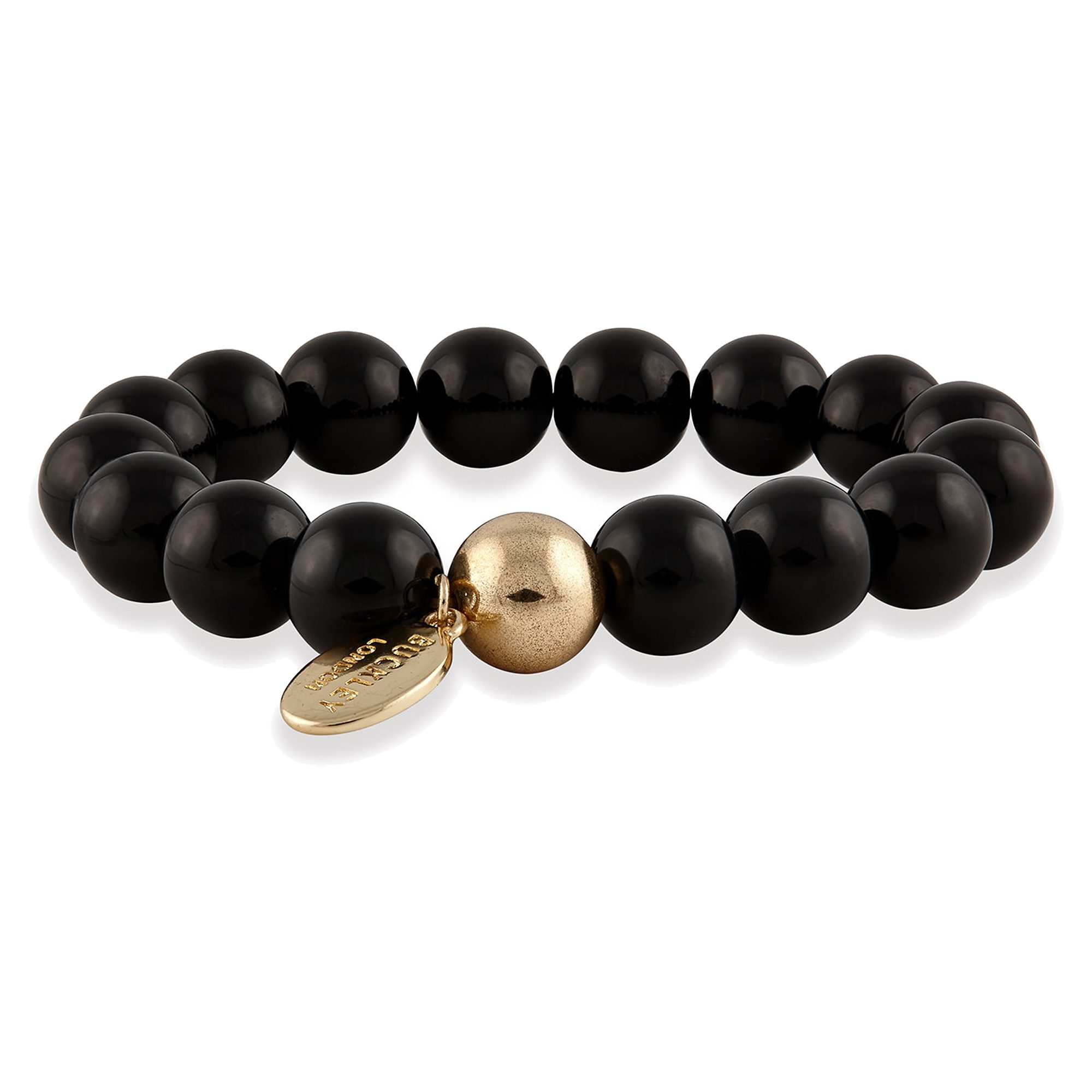 Buckley London Armschmuck »vergoldet mit Onyx«