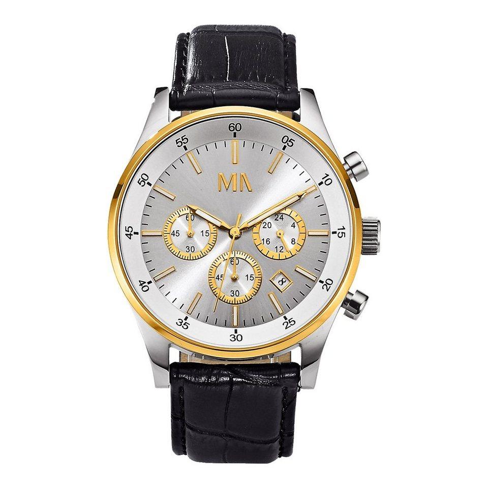 Meister Anker Chronograph »Metall vergoldet« in gelb