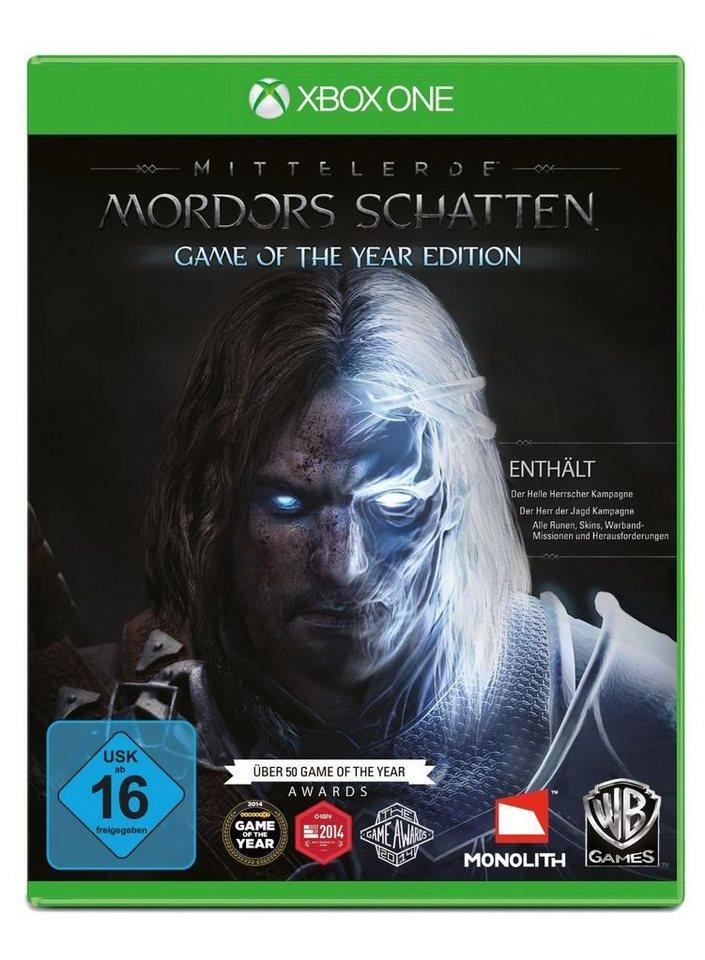 Warner Games XBOX One - Spiel »Mittelerde: Mordors Schatten - GOTY Edition«