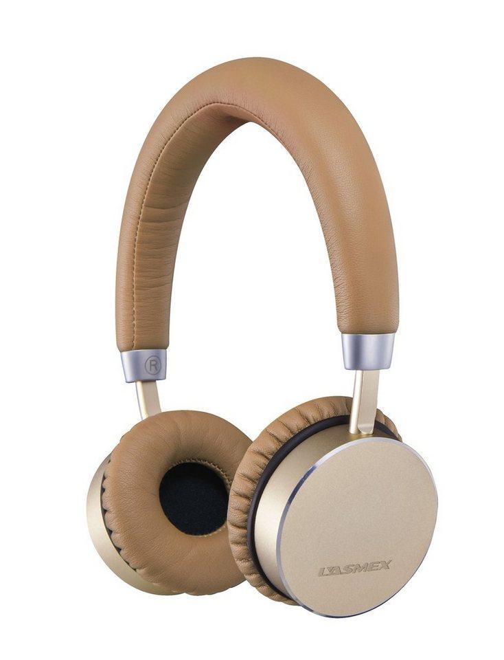 LASMEX Bluetooth Kopfhörer »HB-60 Bluetooth Kopfhoerer (HB-60)« in gold