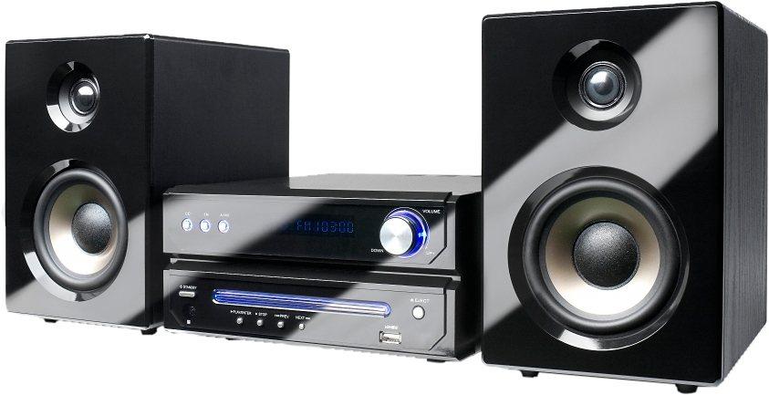 Dual MS 110 CD Minianlage, RDS, 1x USB in schwarz