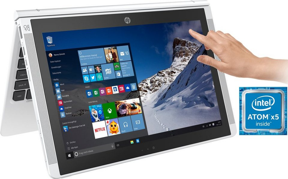 hp pavilion x2 10 n10 ng convertible notebook intel atom. Black Bedroom Furniture Sets. Home Design Ideas