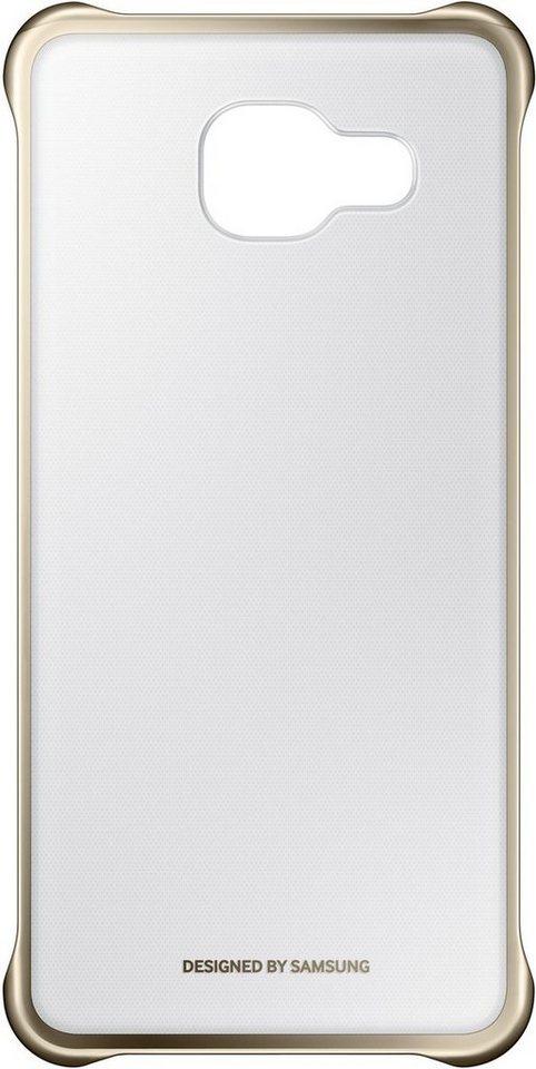 Samsung Handytasche »Clear Cover EF-QA310 für Galaxy A3 (2016)« in Gold