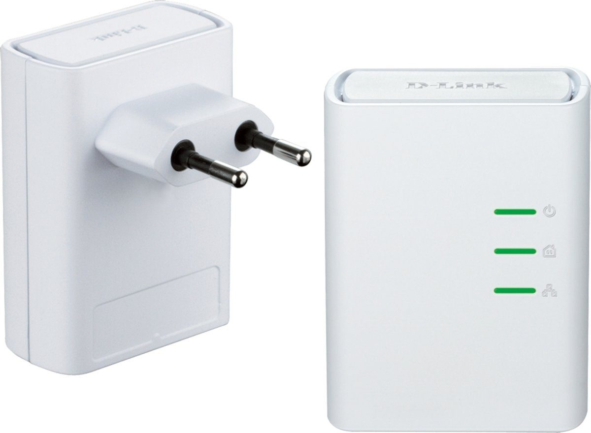 D-Link Powerline »DHP-509AV/E 500Mbit SchuKo Powerline AV Kit«