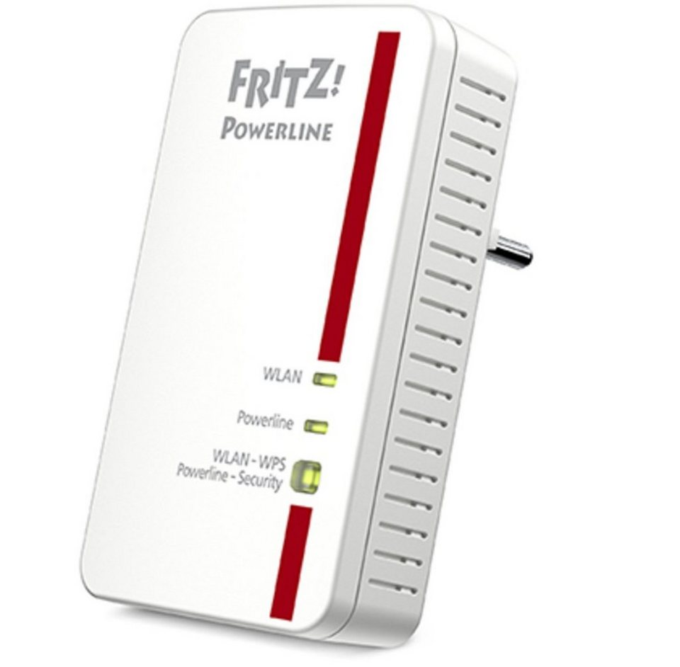 AVM Adapter »FRITZ!Powerline 1240E (1200 MBit/s)« in Weiß