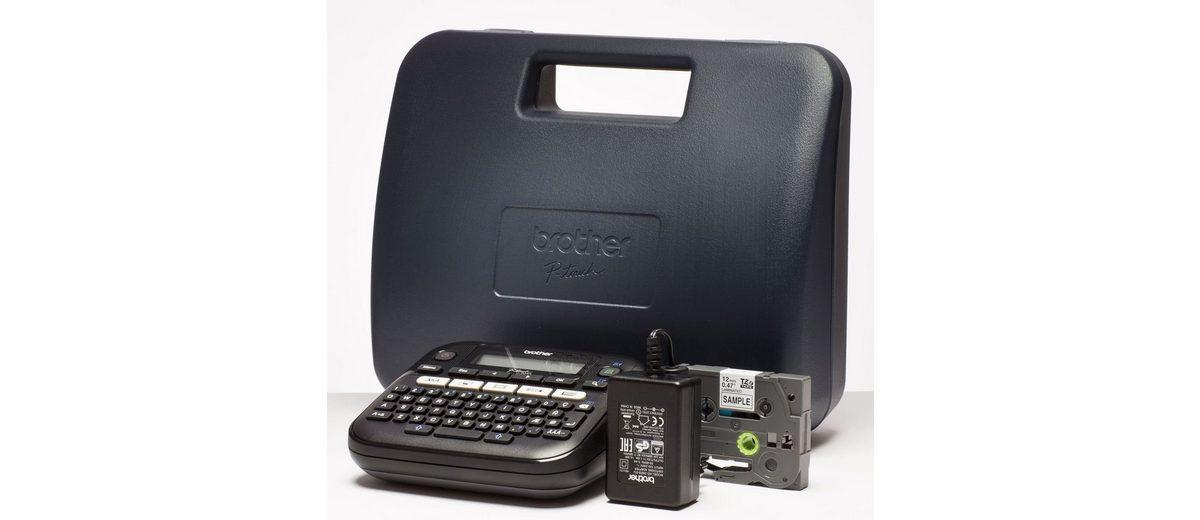 Brother Beschriftungsgerät »P-touch D210VP Desktop Beschriftungsgerät«