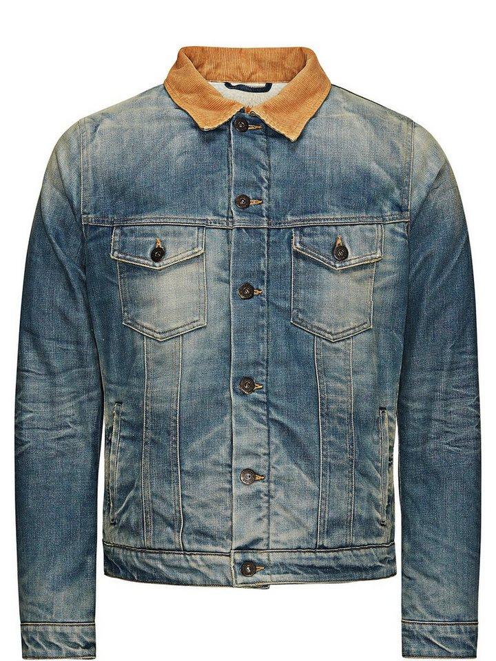 Jack & Jones Klassischer Jeansjacke in Blue Denim