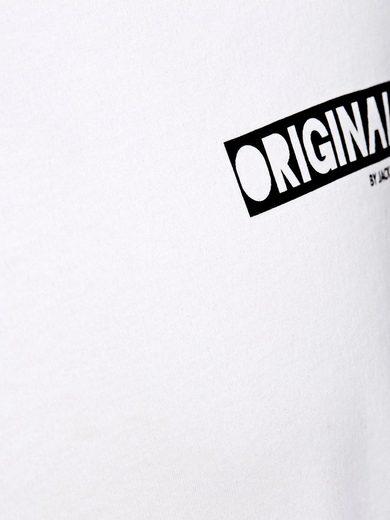 Jack & Jones Hinten bedrucktes T-Shirt