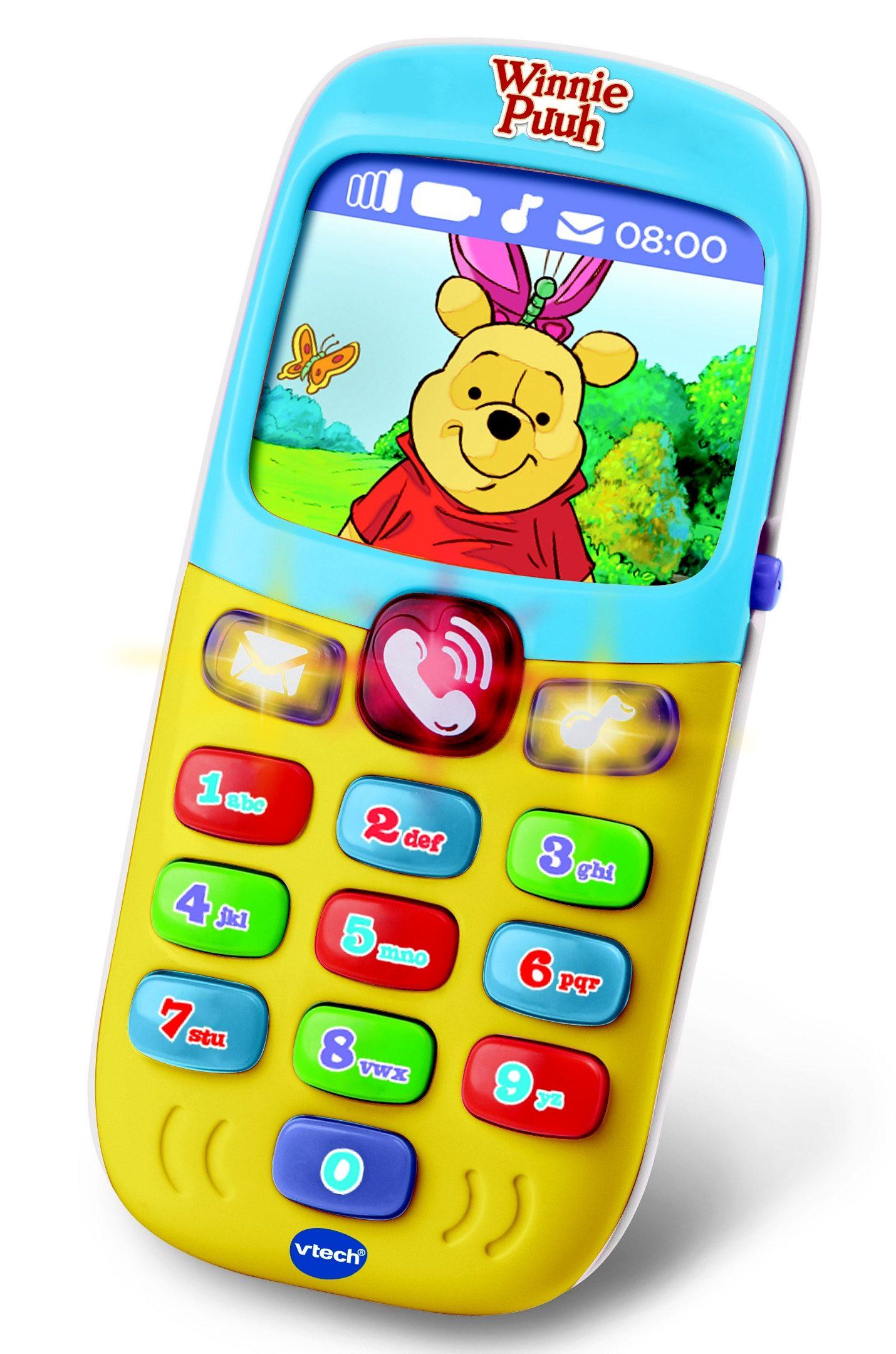 VTech Spielhandy, »VTech Baby - Winnie Puuh Lernhandy«