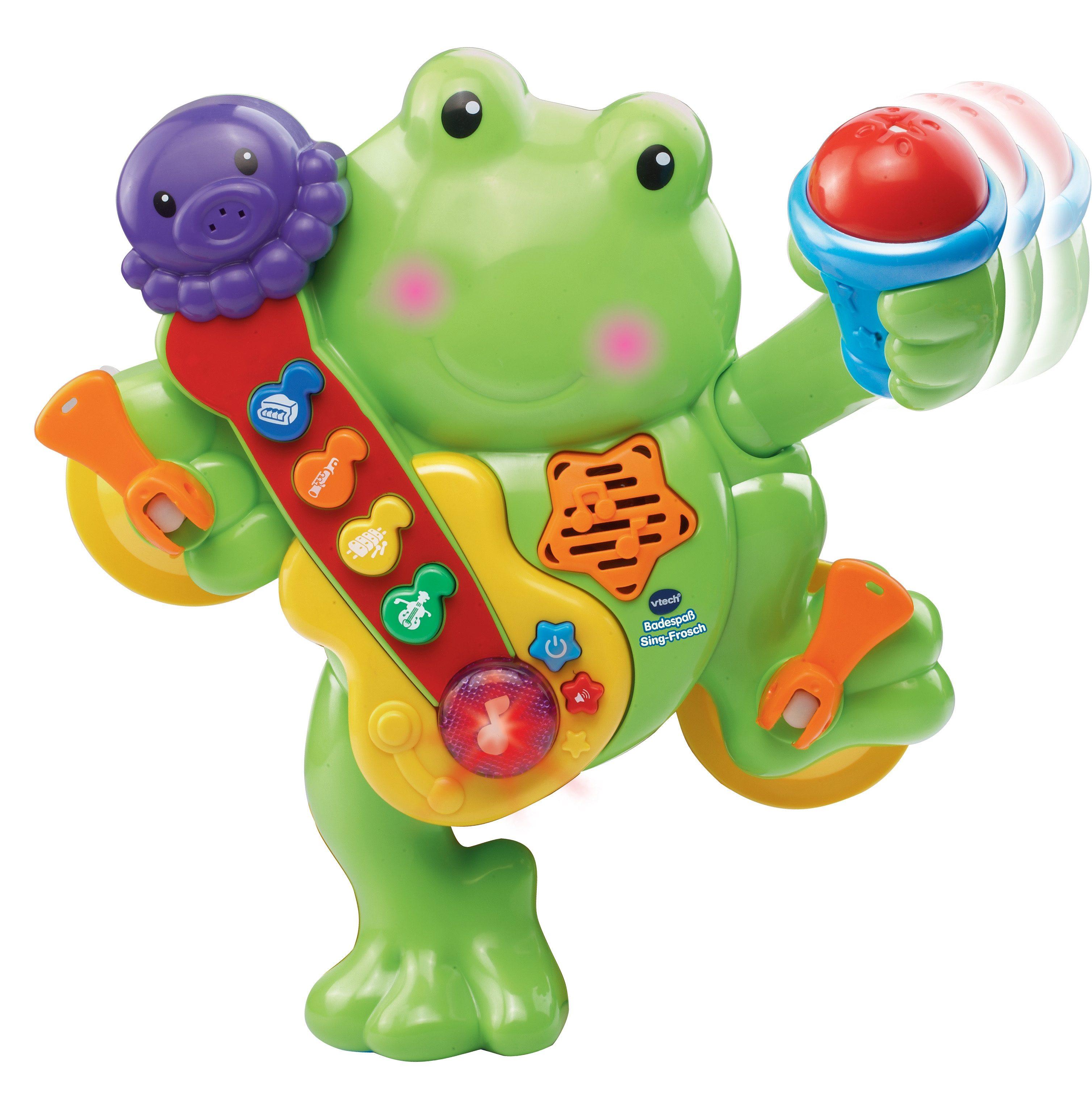 VTech Badespielzeug, »VTech Baby - Badespaß Sing-Frosch«