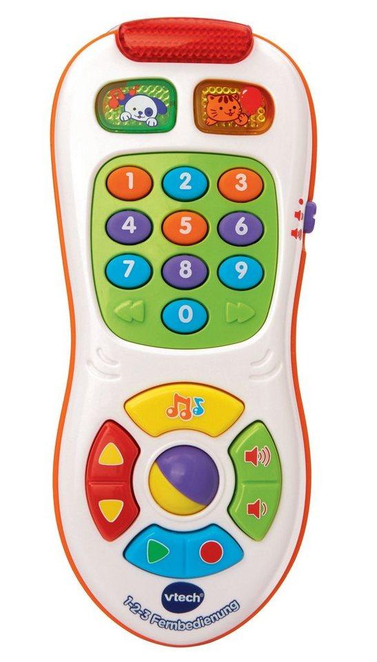 VTech Lernspielzeug, »VTech Baby - 1-2-3 Fernbedienung«