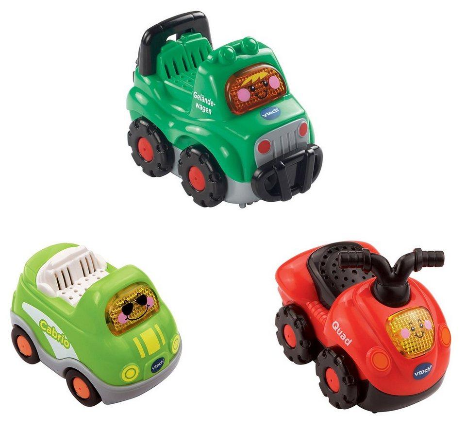 VTech Fahrzeug-Set 3-tlg., »Tut Tut Baby Flitzer«