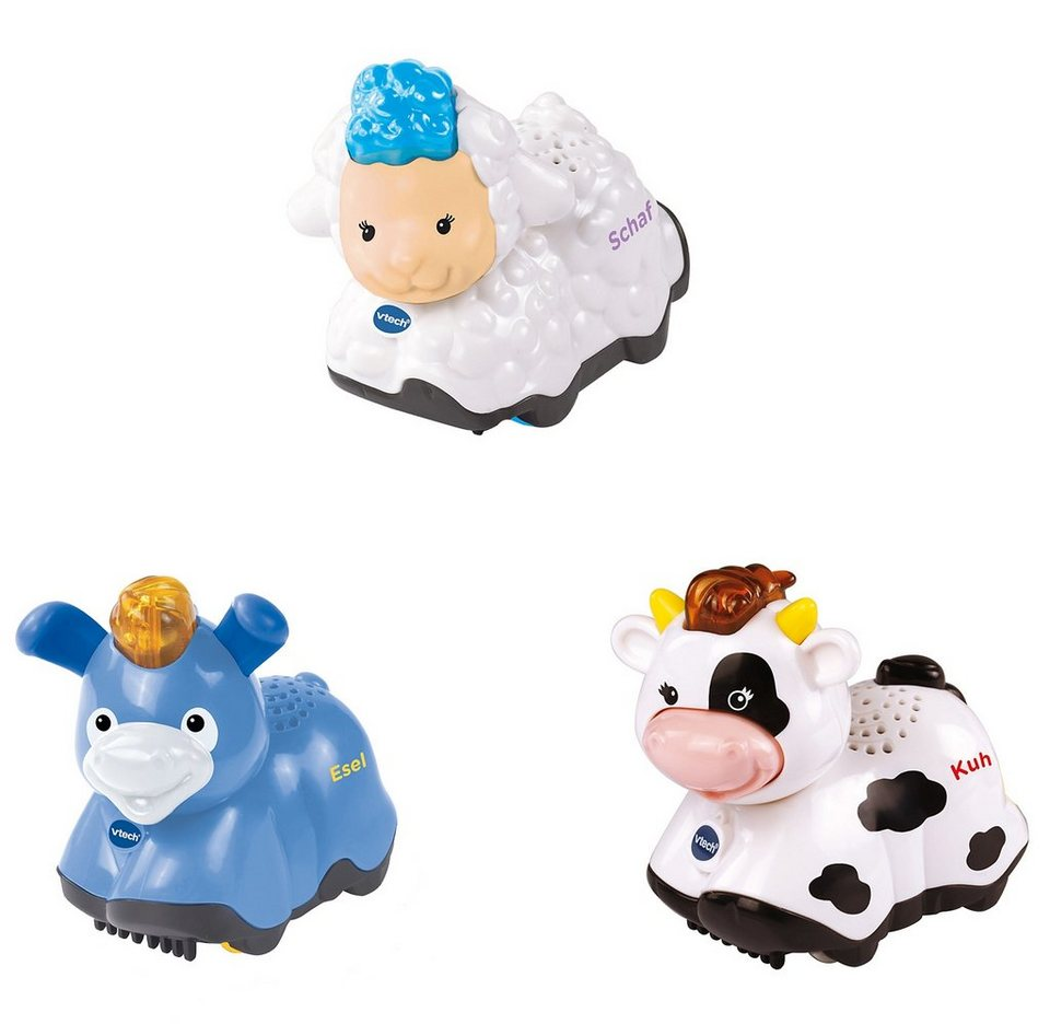 VTech Tiere-Set 3-tlg., »Tip Tap Baby Tiere«