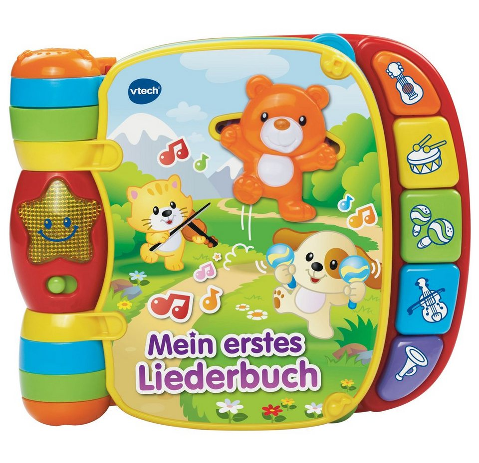 vtech liederbuch vtech baby mein erstes liederbuch. Black Bedroom Furniture Sets. Home Design Ideas