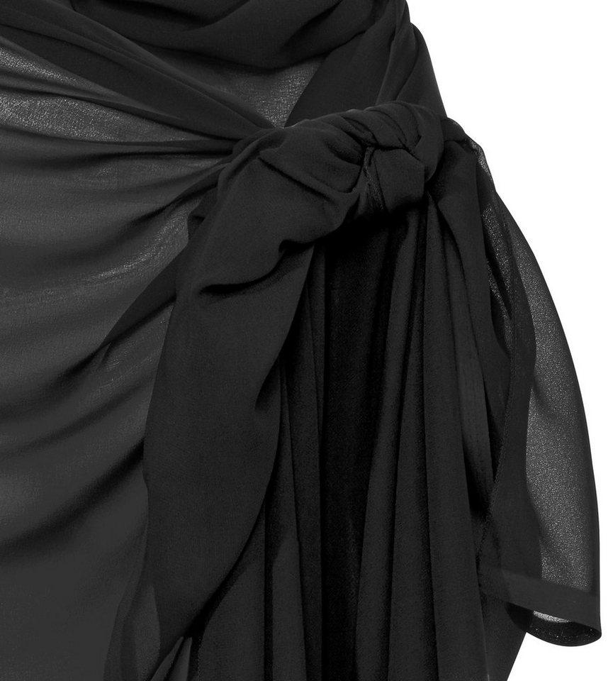 Pareo in schwarz/weiß