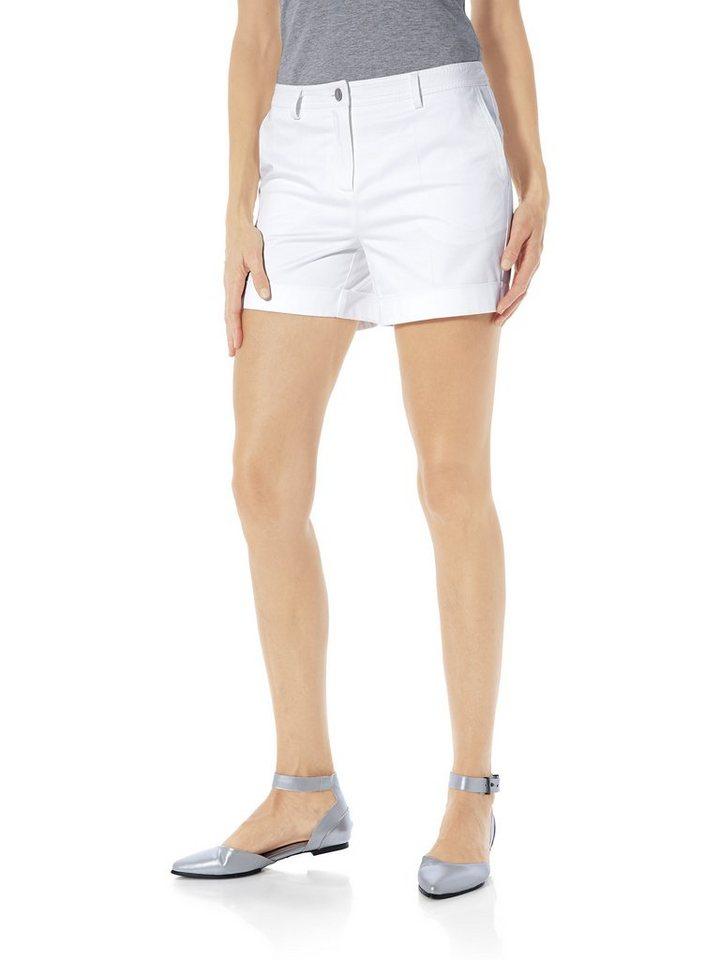 Bodyform-Shorts in weiß