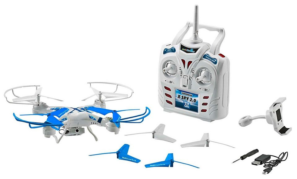 REVELL-MONOGRAM RC Quadrocopter mit Live- Kamera, »Revell® Control X-Spy 2.0«