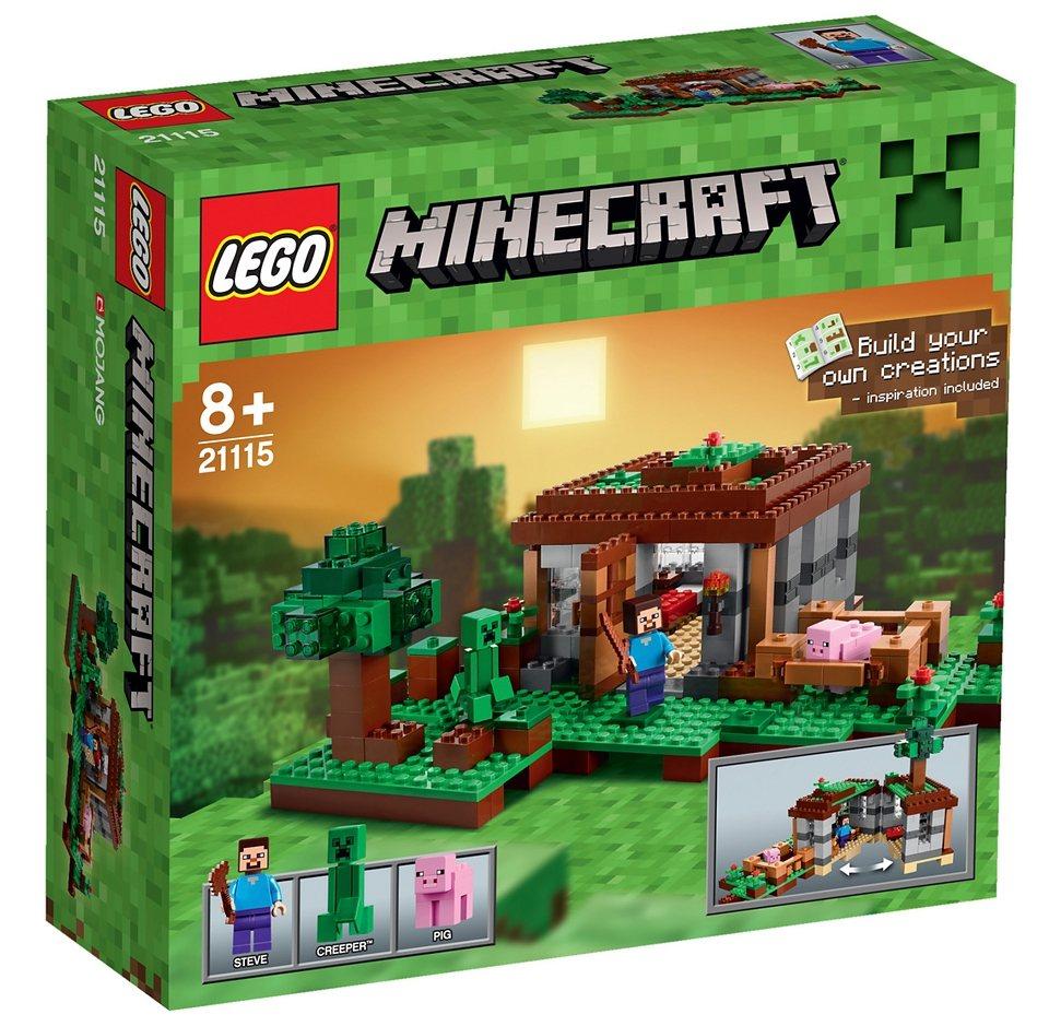 LEGO® Steve's Haus (21115), »LEGO® Minecraft™«