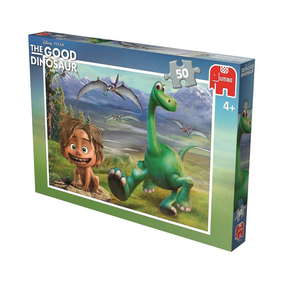 Jumbo Puzzle 50 Teile - Disney Arlo & Spot
