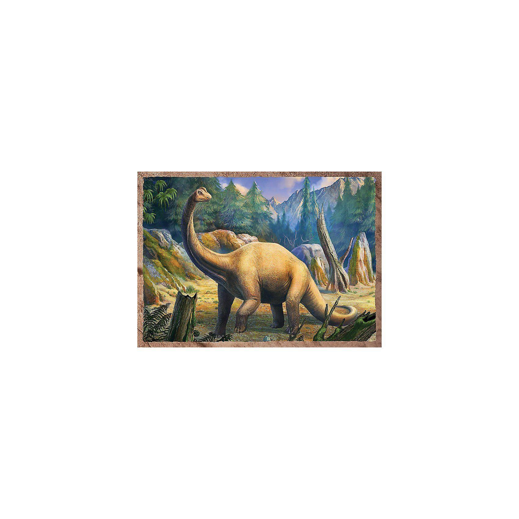 Trefl 4in1 Puzzle 35/48/54/70 Teile - Die Dinosaurier