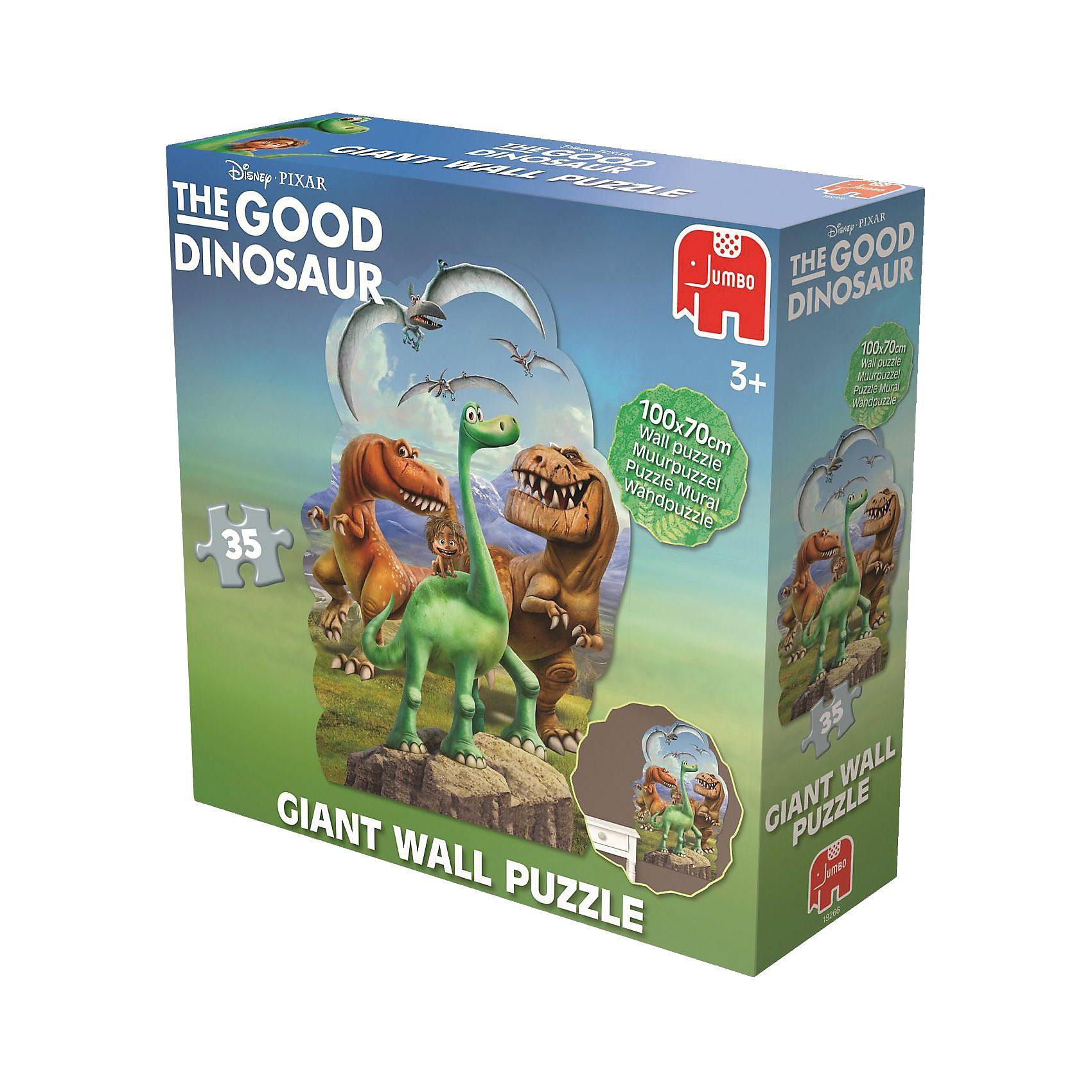 Jumbo Wandpuzzle / Bodenpuzzle 100 Teile - Disney Arlo & Spot