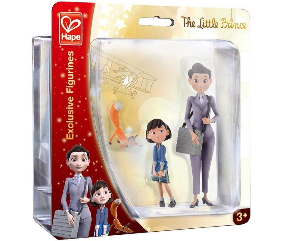 Hape Set Spielfiguren 3-tlg, »Der kleine Prinz - Kleines Mädchen, Mutter und Fuchs«