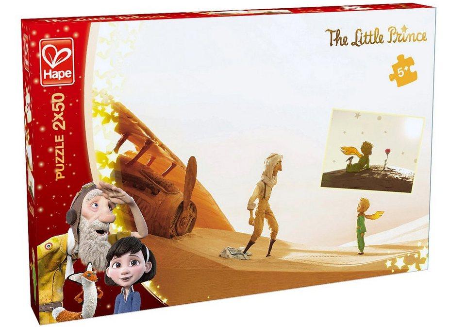 Hape Puzzle, 2x50 Teile, »Der kleine Prinz - Triff den kleinen Prinzen«