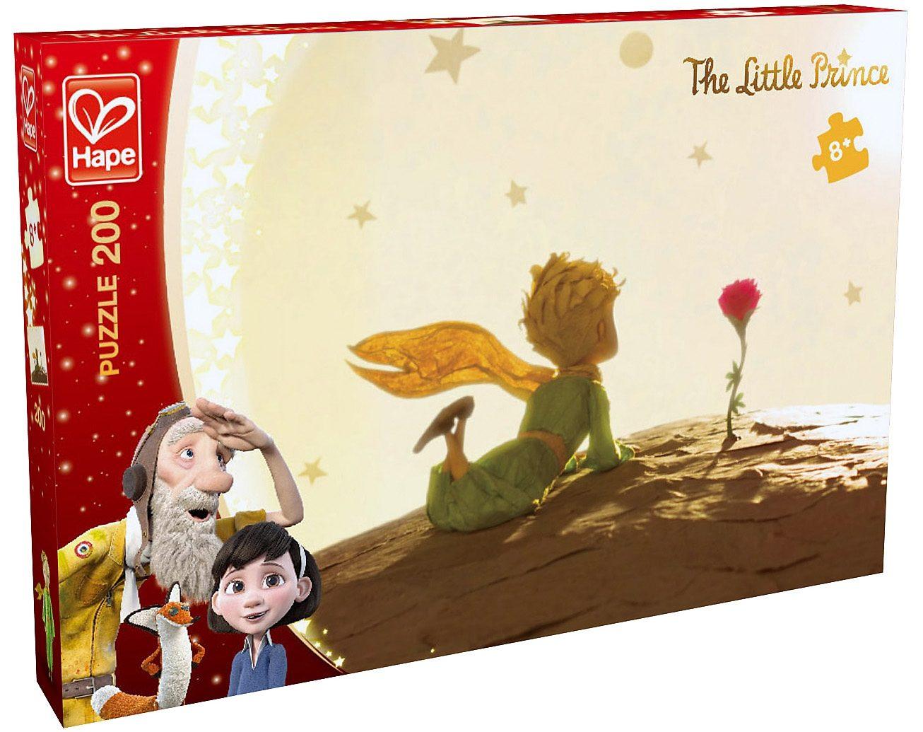 Hape Puzzle, 200 Teile, Hape, »Der kleine Prinz - Sonnenuntergang«
