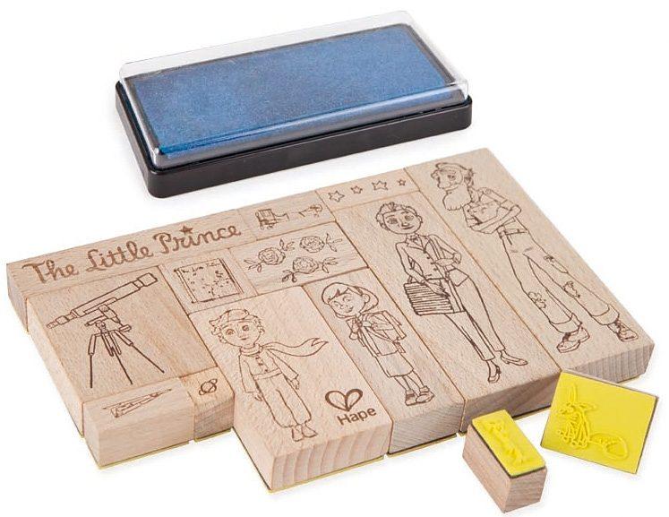 Hape Stempelset aus Holz 14-tlg., »Der kleine Prinz«