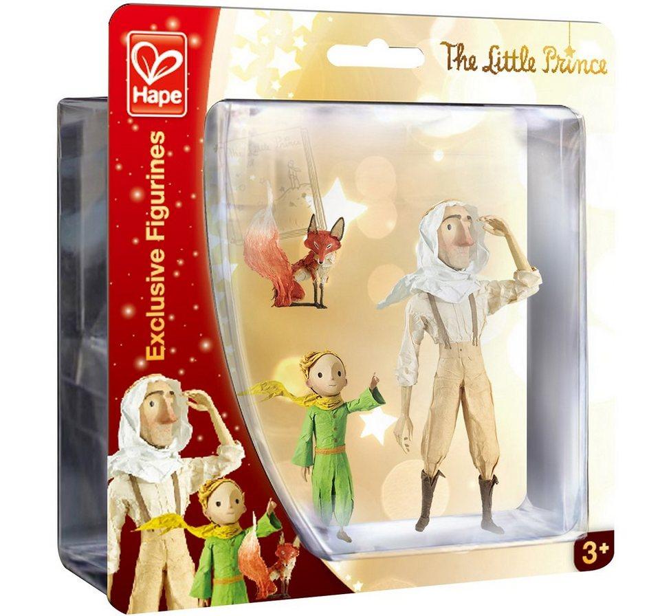 Hape Set Spielfiguren 3-tlg., »Der kleine Prinz - Der Kleine Prinz, Pilot & Fuchs«