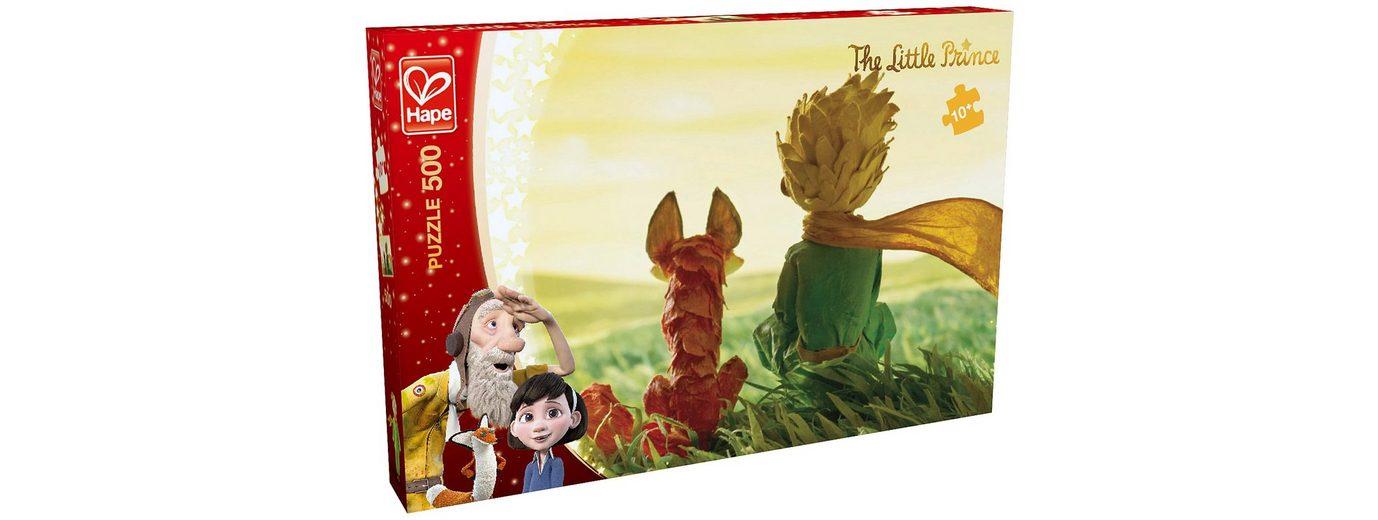 Hape Puzzle, 500 Teile, »Der kleine Prinz - Freundschaft«