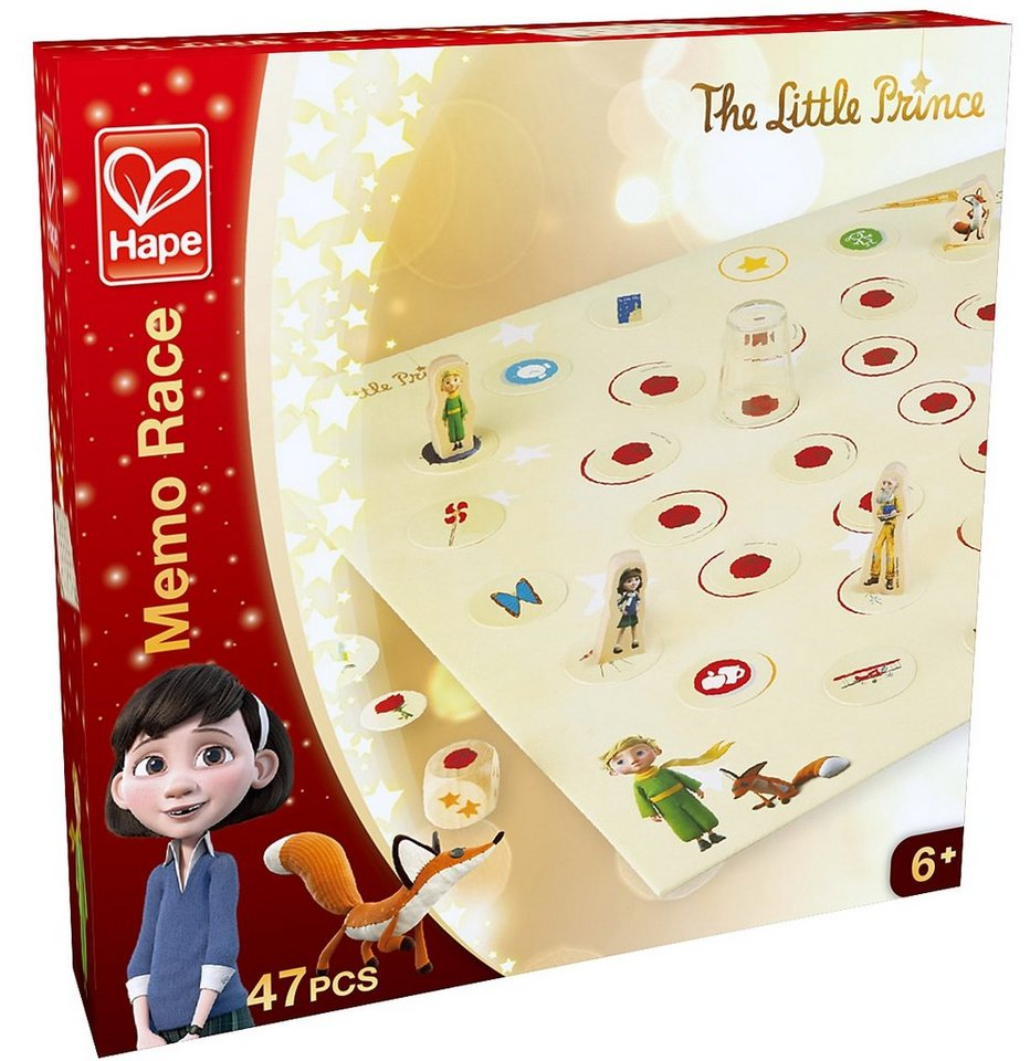 Hape Würfelspiel, »Der kleine Prinz - Memo-Rennen«
