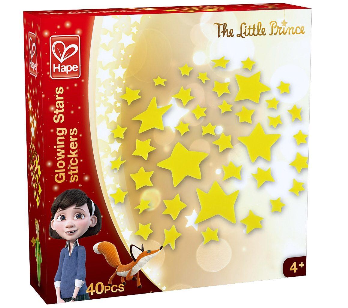 Hape Wandsticker leuchtend, »Der kleine Prinz - Leuchtsterne«